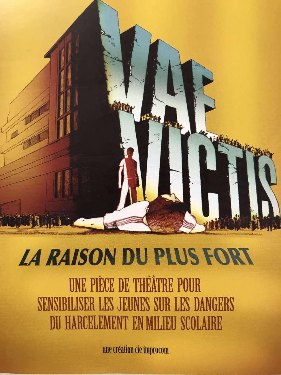 Niveau 4ème + 5èmeA – Vae Victis : La Raison Du Plus Fort (Troupe IMPROCOM)