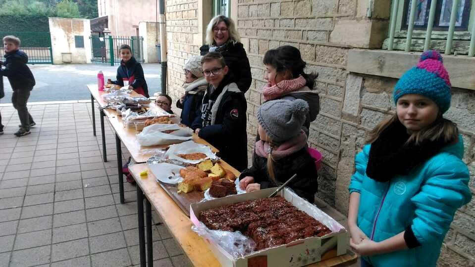 Vente De Gâteaux CE1-CE2