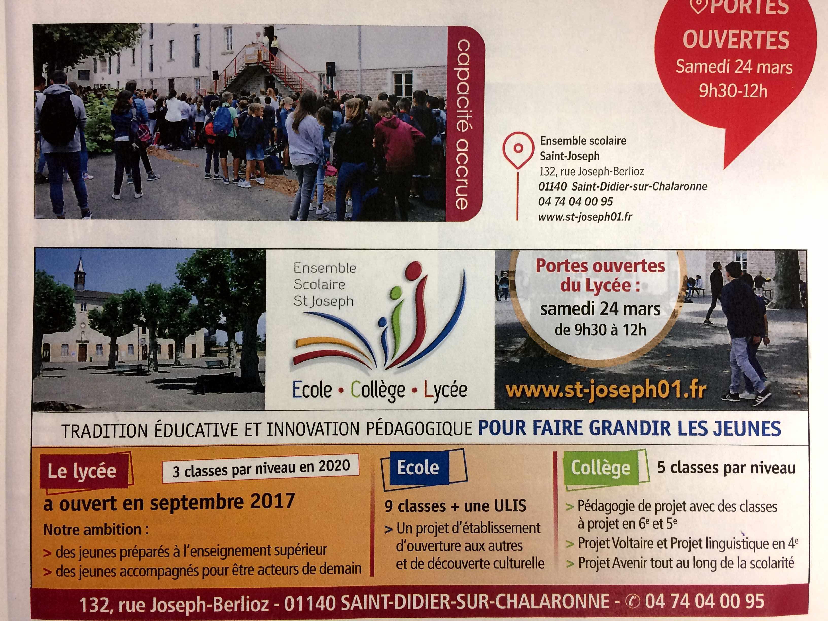Portes Ouvertes Du Lycée