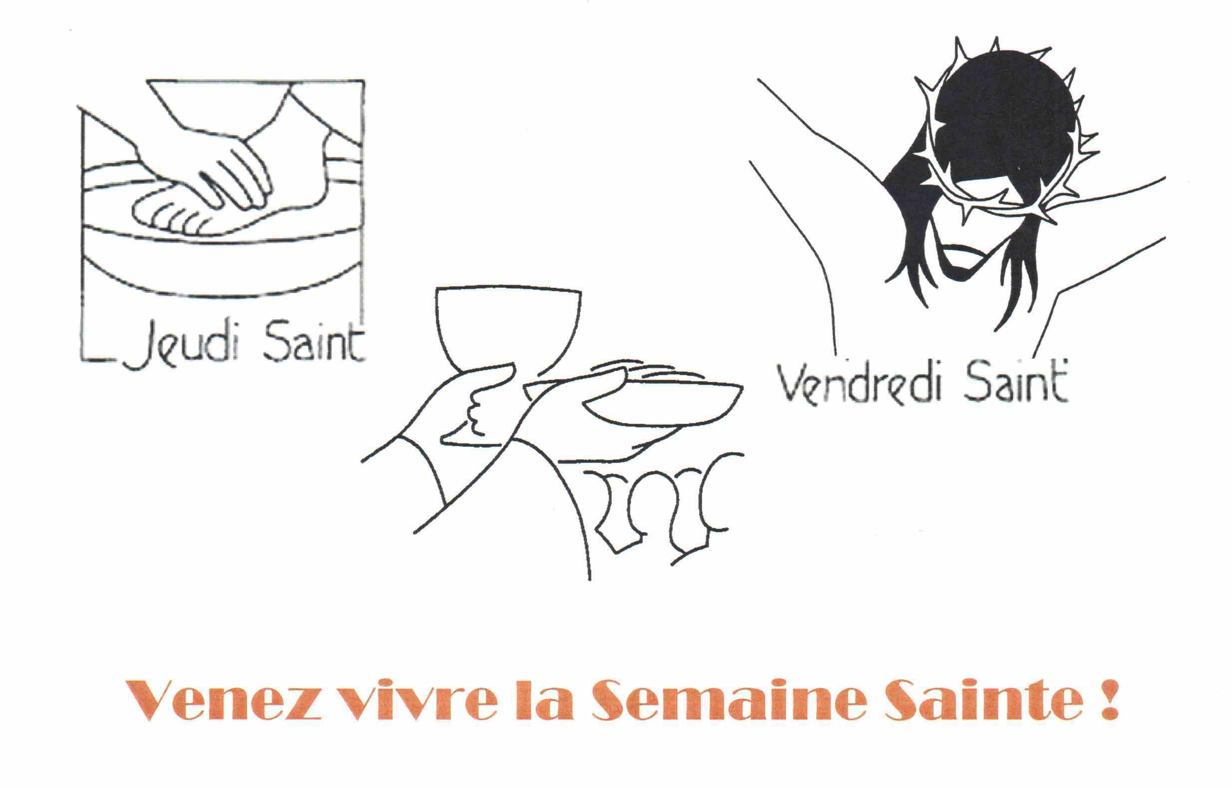 Venez Vivre La Semaine Sainte !