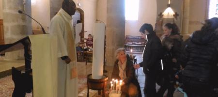 Célébration Du Jeudi Saint Jeudi 29 à L'Eglise De Saint Didier!