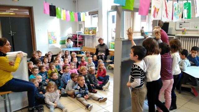 Spectacle De Marionnettes Classe De CE2