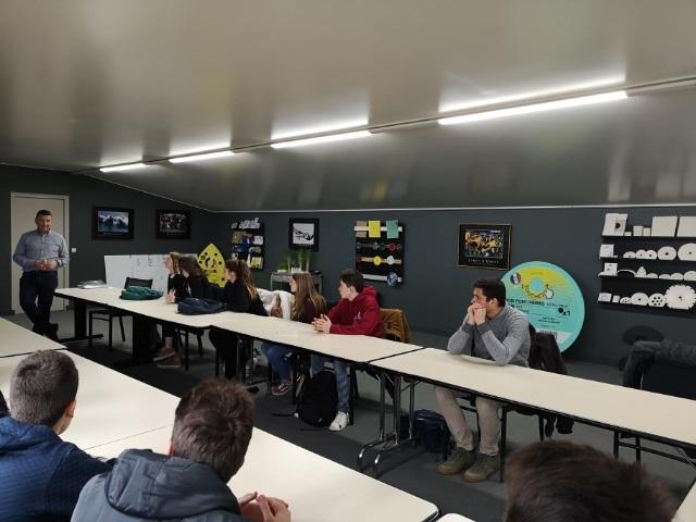 Visite Pro Des Lycéens Dans L'entreprise SAE