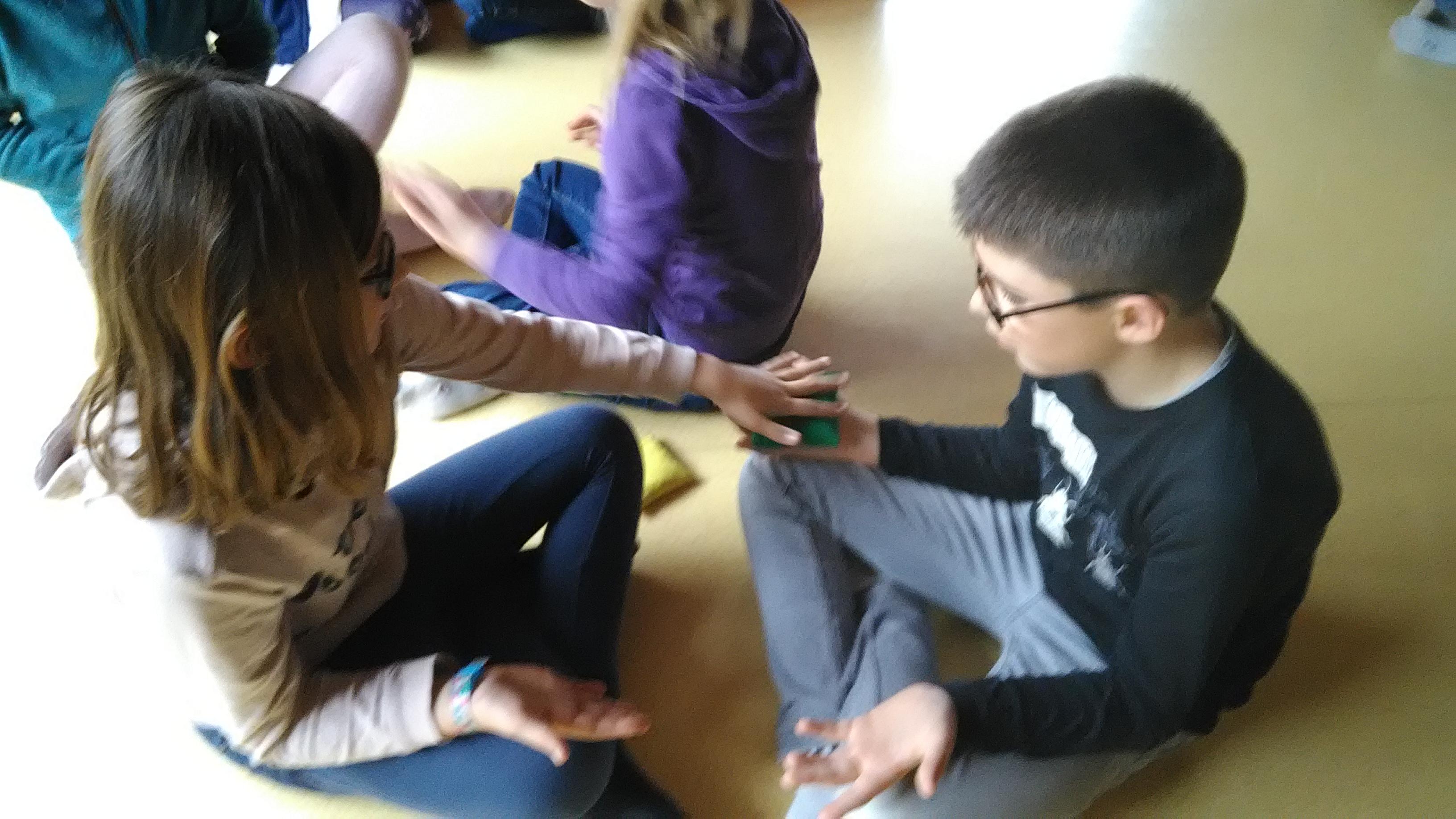 Activité Brainball Partagée Par La Classe ULIS Et La Classe De Ce2