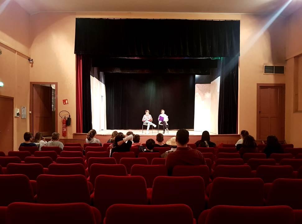 Les 6A En Répétition Du Spectacle De Fin D'année! 🎭
