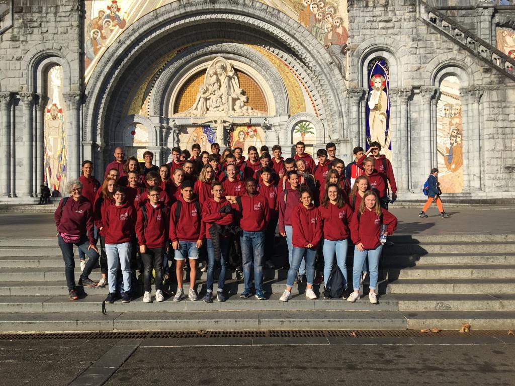 Voyage à Lourdes Des Lycéens