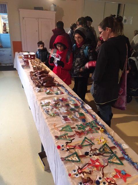 Marché De Noël école Sainte Marie