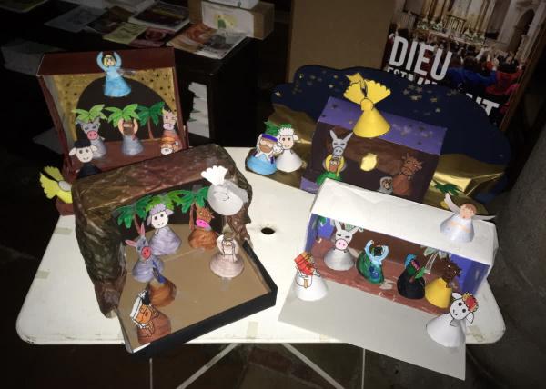 Célébration De Noël école Sainte Marie