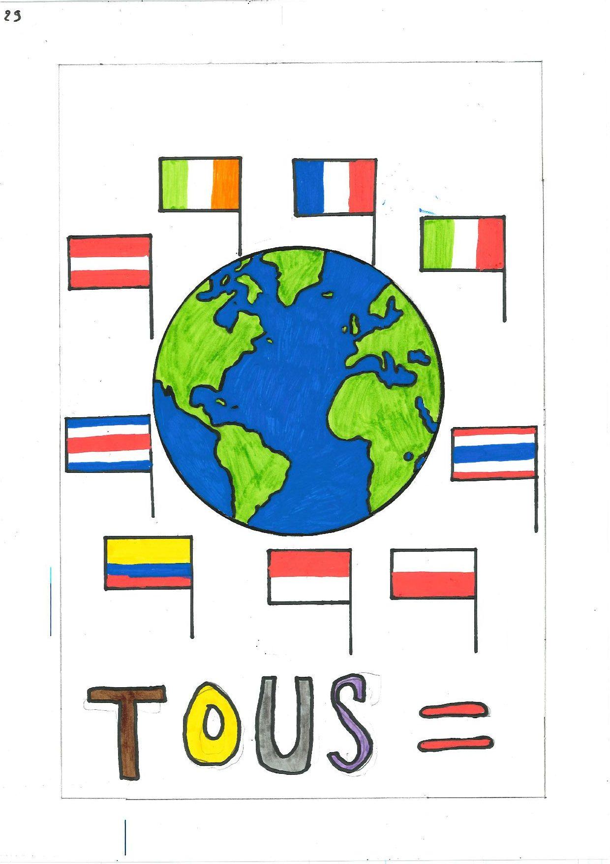 Concours D'affiches Contre Les Discriminations En 5ème.
